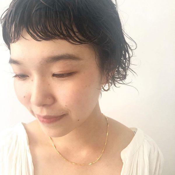 前髪ぱっつん×ショートヘアカタログ13