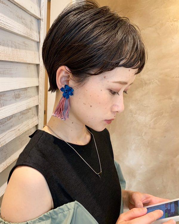前髪ぱっつん×ショートヘアカタログ2