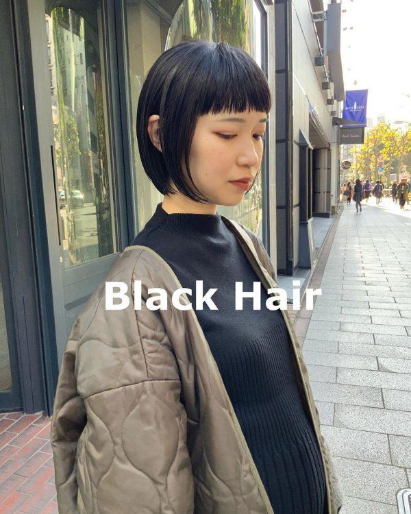 前髪ぱっつん×ショートヘアカタログ5