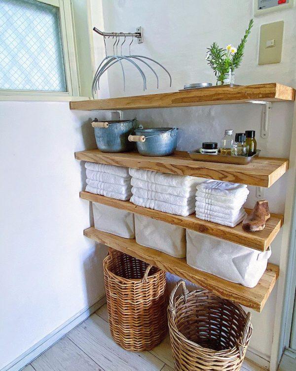 洗面所の収納アイデア4