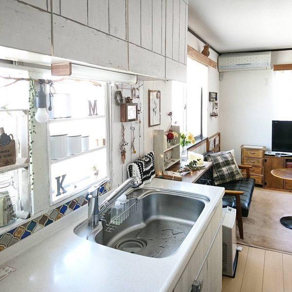 キッチン DIY セルフリノベ14