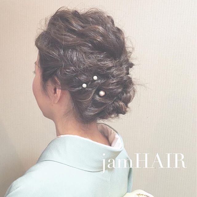 50代に似合う結婚式の髪型《和装向け》4