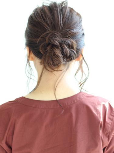 30代に似合うショートのヘアアレンジ9