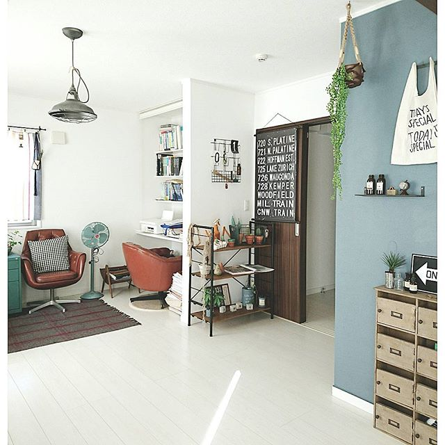 2階に作られた書斎スペース