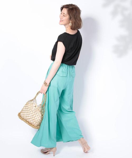 8月のハワイで着たい服装|パンツ3