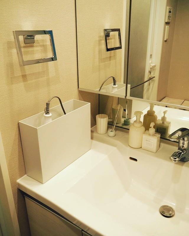 【無印良品】洗面所収納アイデア《PPファイルボックス》5