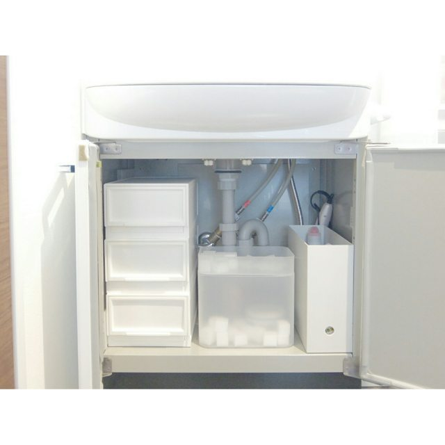 【無印良品】洗面所収納アイデア《PPメイクボックス》