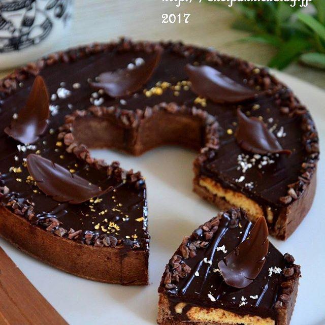 誕生日ケーキに人気のレシピ!チョコタルト