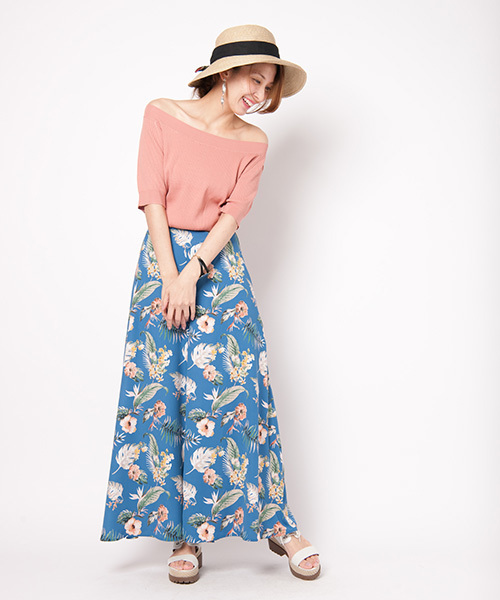 [glamb] Sky flower pants