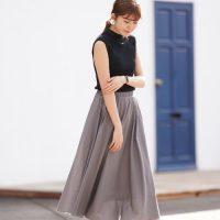 グレースカートの夏コーデ【2020最新】大人カラーでキメるきれいめな着こなし