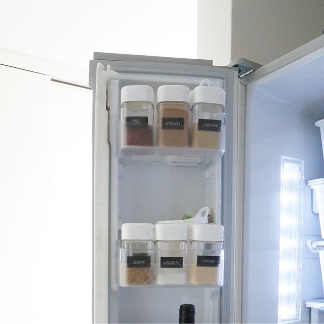 冷蔵庫ドアポケットの収納アイデア《セリア》3