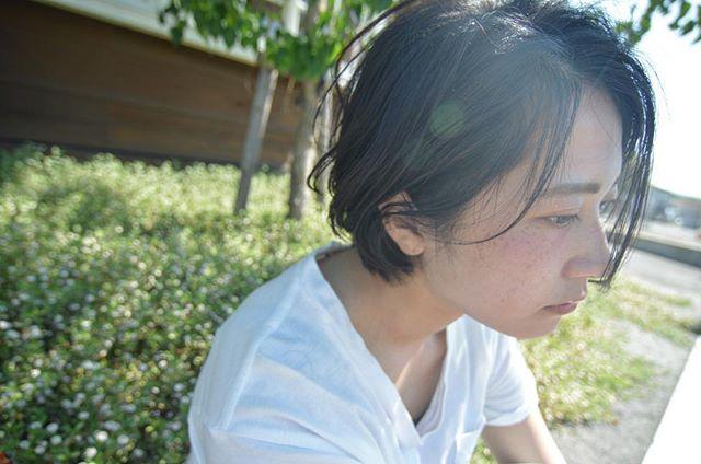 お祭りに似合うショートの髪型×ダウンヘア3