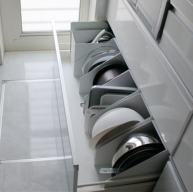 キッチン収納のコツ④鍋類は出し入れしやすく収納3