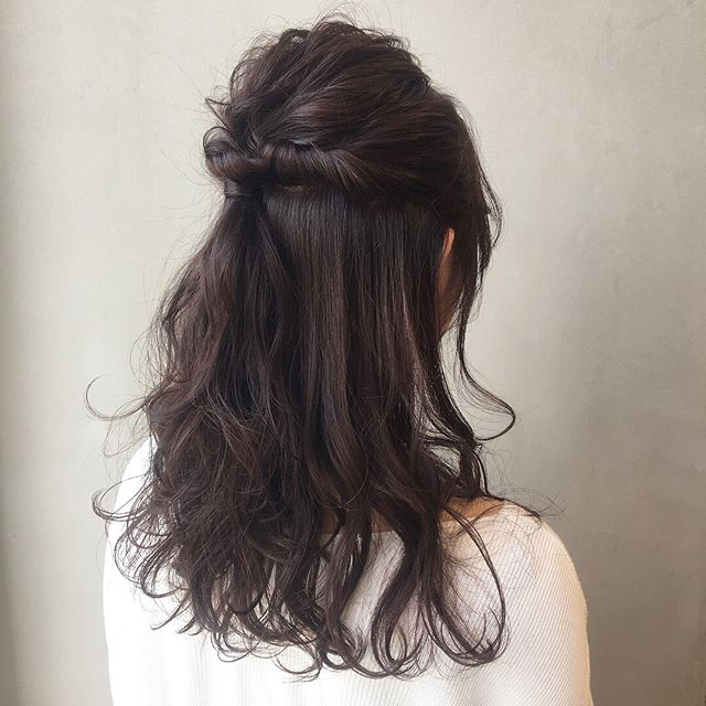 乙女気分の可愛いヘアスタイル