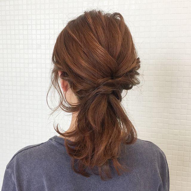花嫁 ハーフアップ 髪型8