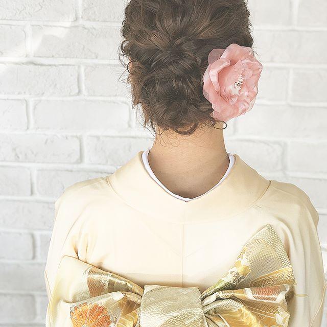 50代に似合う結婚式の髪型《和装向け》6