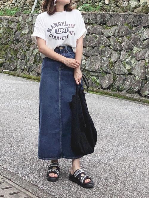 8月の大阪向けのおしゃれコーデ8