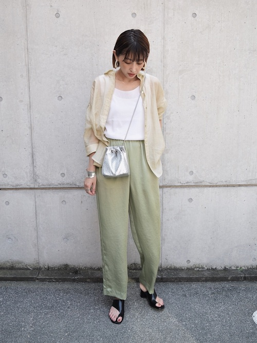 [BEAUTY&YOUTH UNITED ARROWS] <6(ROKU)>NEW SATIN PANTS/パンツ