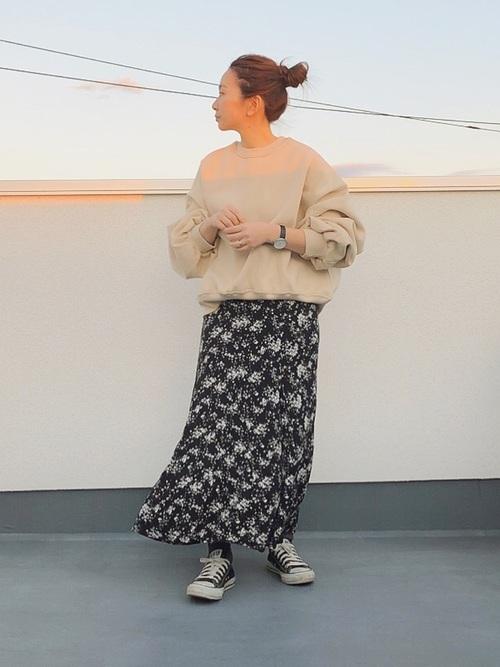 ユニクロのスカート9