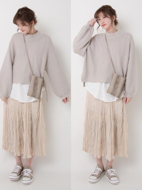 ユニクロのスカート8