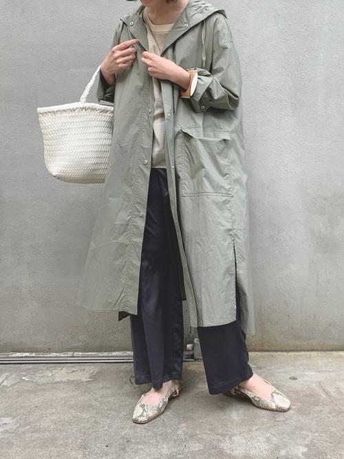 [CIAOPANIC TYPY] OSOROシャツフードコート