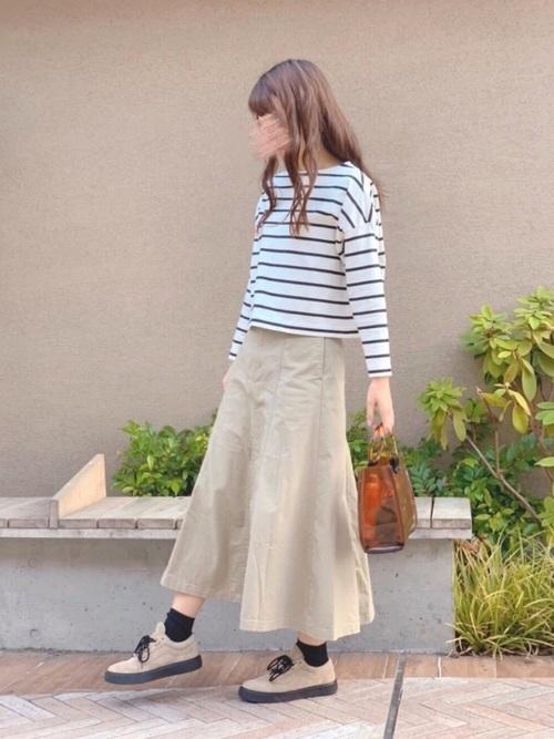 ユニクロのスカート3