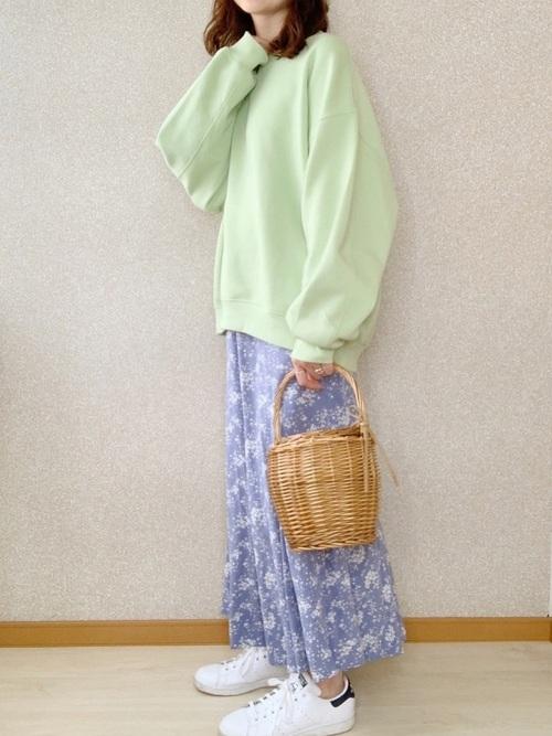ユニクロのスカート12