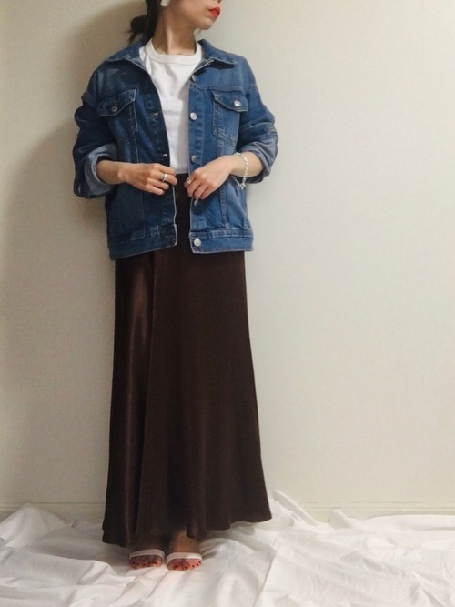 ZARAのスカートコーデ2