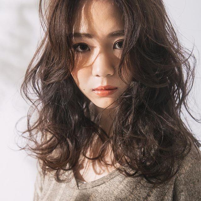 かきあげ前髪×エレガントロング