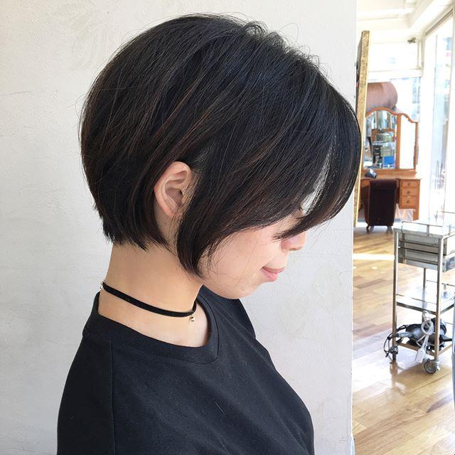 夏に取り入れたいヘアスタイル《ショート編》6