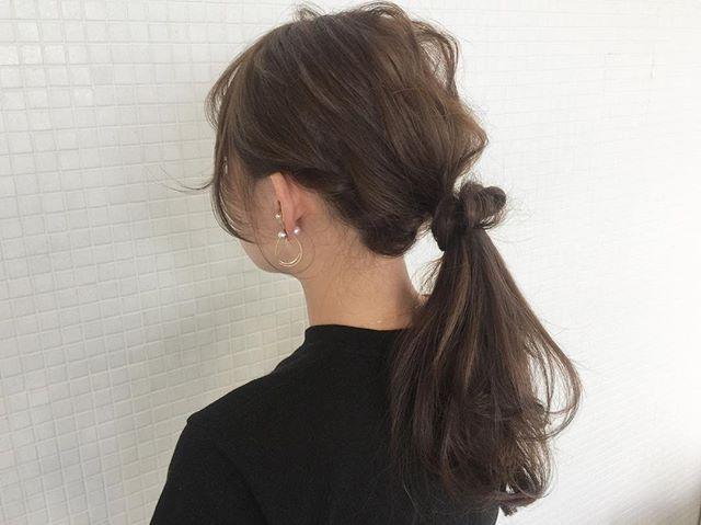 夏に取り入れたいヘアスタイル《セミロング・ロング編》5