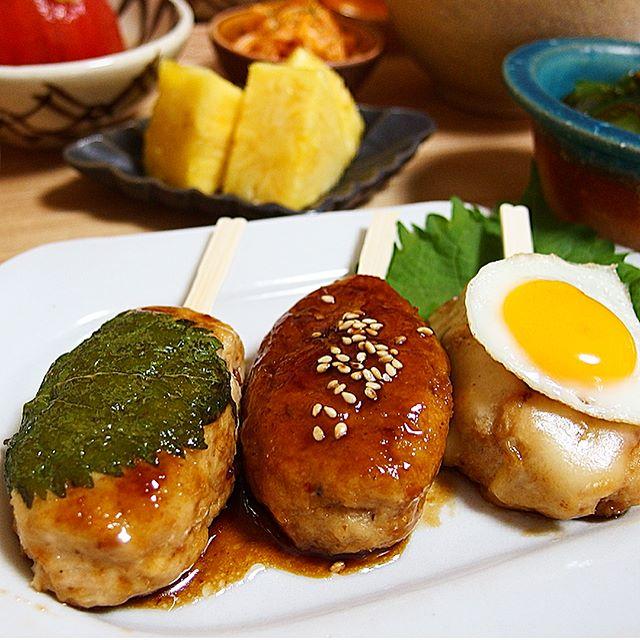 チューハイに合う料理!豆腐入りふんわりつくね