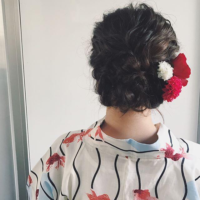 50代に似合う結婚式の髪型《和装向け》2
