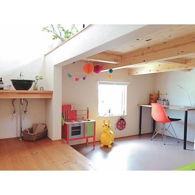 小学生の女の子のおしゃれ子供部屋《カフェ》4