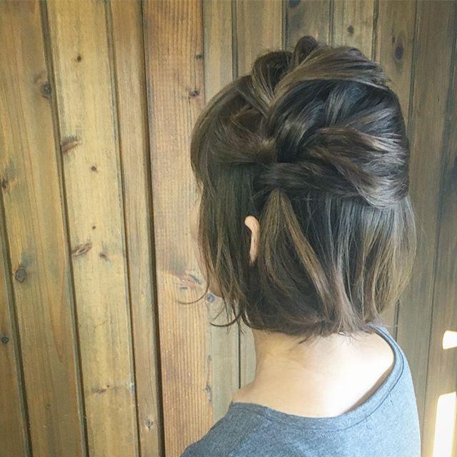 50代に似合う結婚式の髪型《洋装向け》4