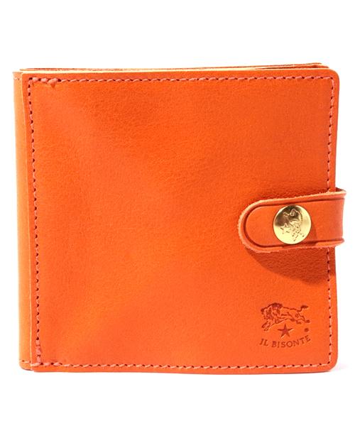 大きなコインケースの二つ折り財布