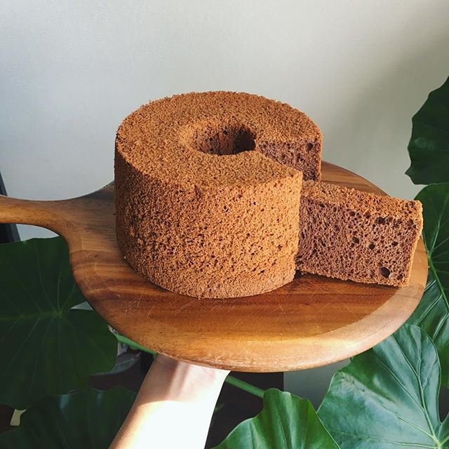 誕生日ケーキのレシピに!チョコレートシフォン