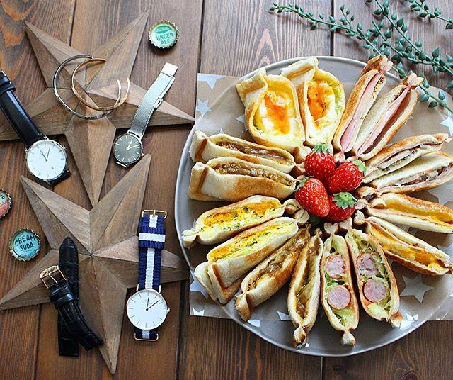 ホームパーティのおつまみ!人気レシピ《軽い主食》3