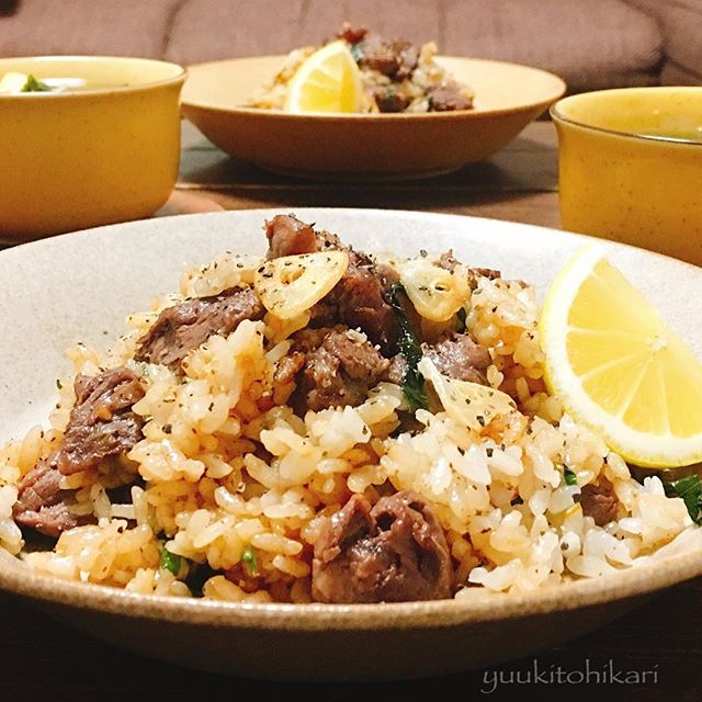晩御飯のメニューに簡単レシピ☆主食