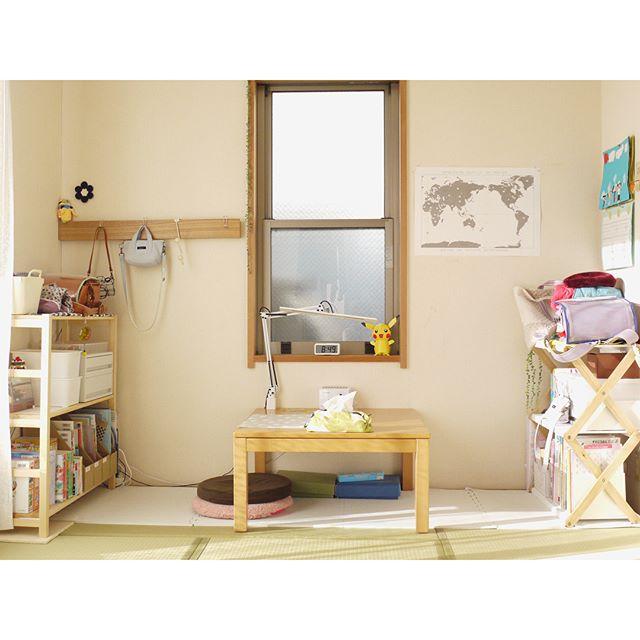 小学生の女の子のおしゃれ子供部屋《ナチュラル》2