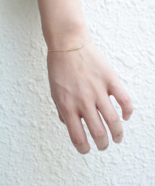 [NOIR DE POUPEE] K10 ローレル ゴールド ブレスレット