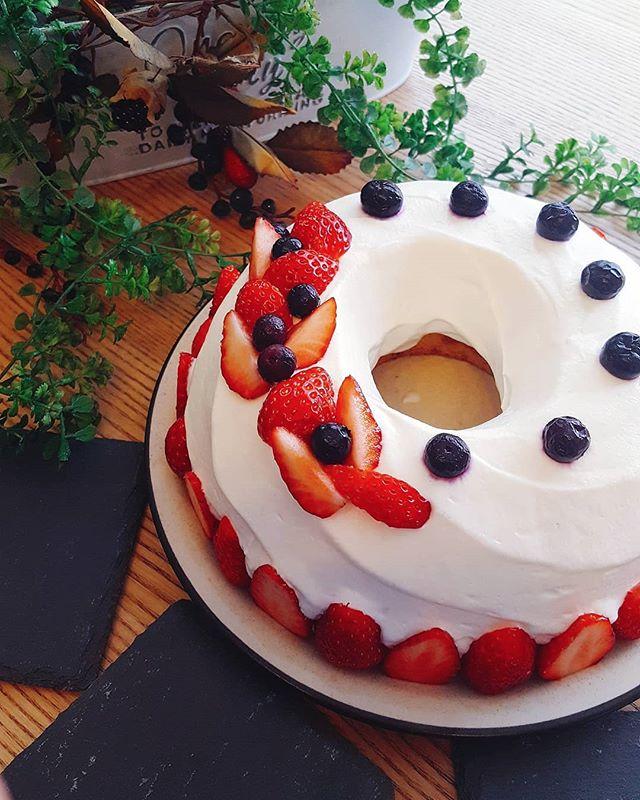 バースデーにおすすめレシピ!イチゴのケーキ