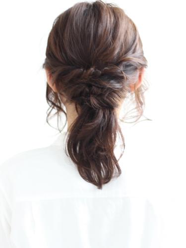 30代に似合うショートのヘアアレンジ8