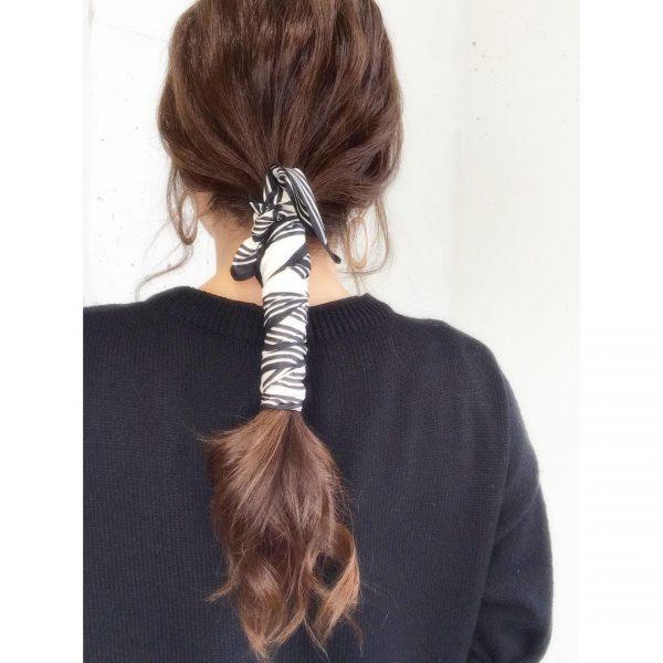 30代に似合うショートのヘアアレンジ18
