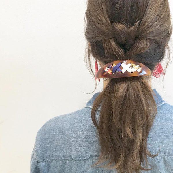 30代に似合うショートのヘアアレンジ14