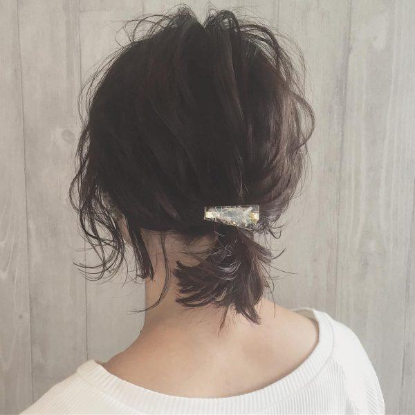 30代に似合うショートのヘアアレンジ5