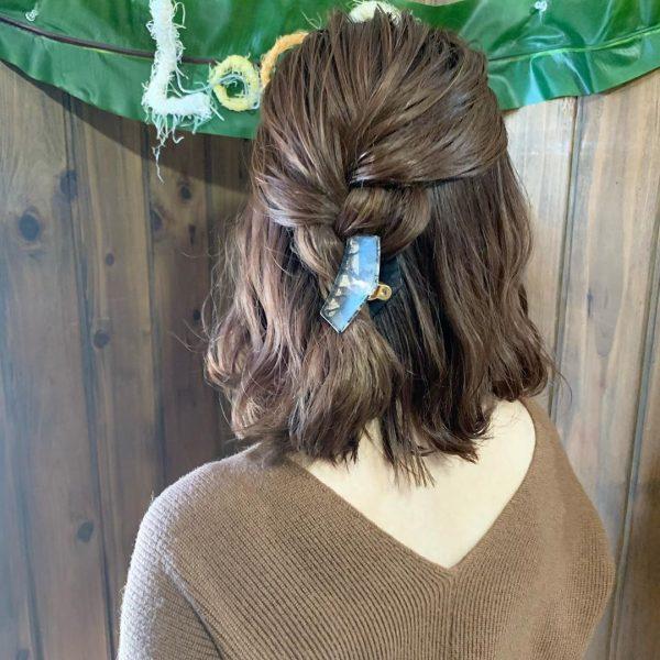 30代に似合うショートのヘアアレンジ6