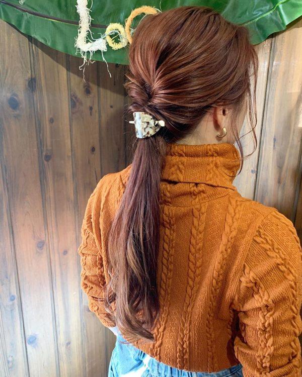 30代に似合うショートのヘアアレンジ16