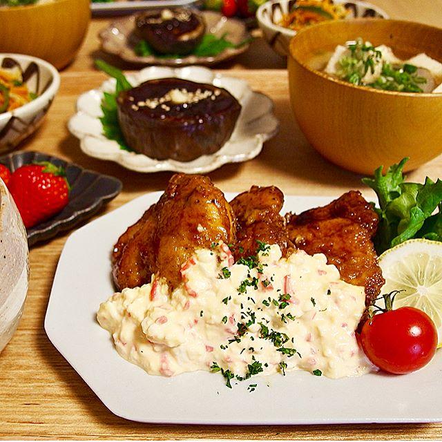 誕生日パーティーに人気!鶏むね肉のチキン南蛮
