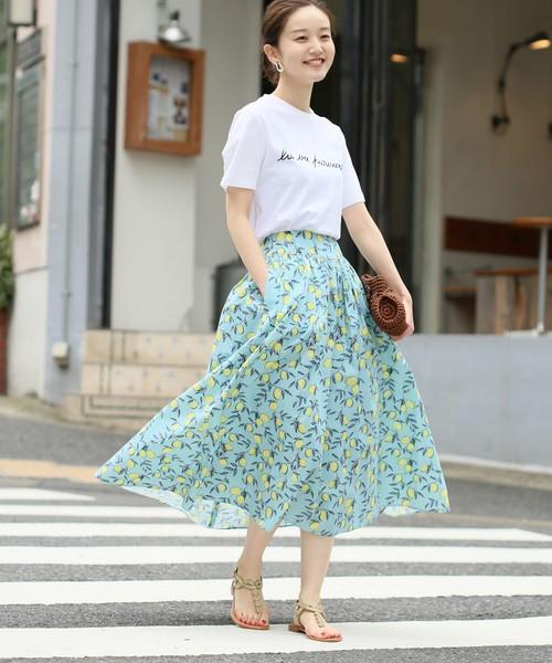 軽井沢 旅行 コーデ 8月11